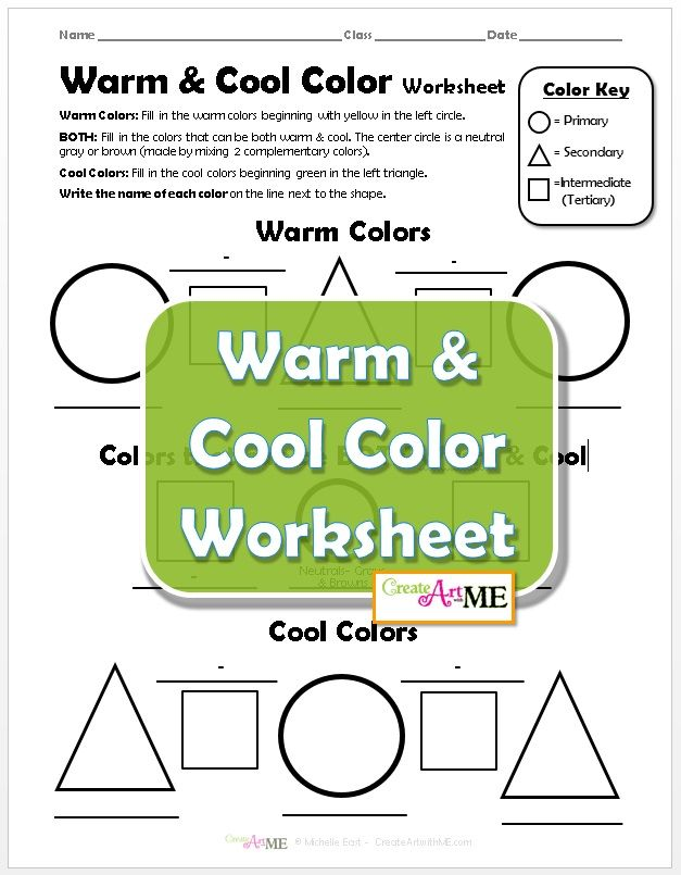 Printable Worksheets should worksheets : 177 best Art Handouts & Worksheets images on Pinterest | Art ...