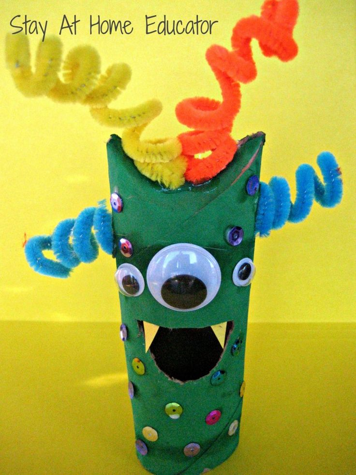 Pape Tube Monster - Stay At Home Educator.