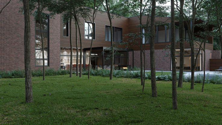 A imagem pode conter: árvore, planta, casa, grama, céu, atividades ao ar livre e natureza