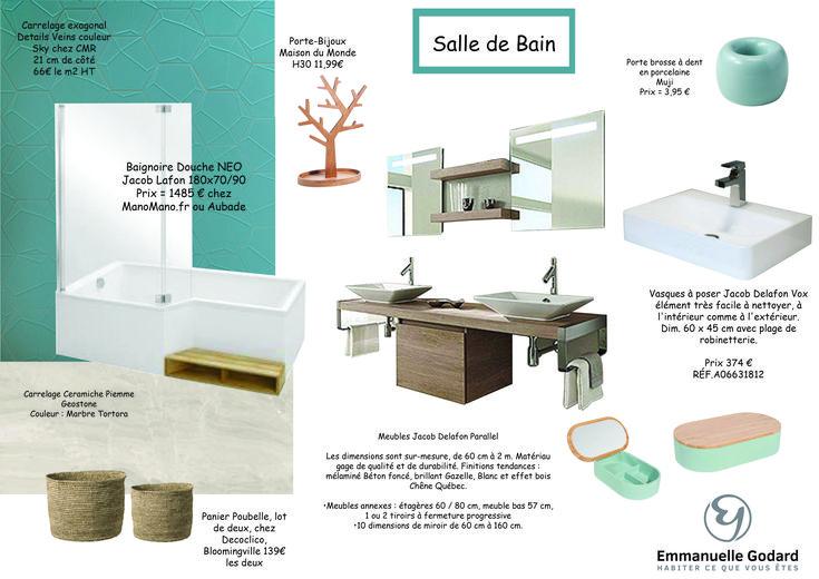 Pin by Emmanuelle Godard - Décoration Intérieure on Création du0027une - prix baignoire a porte