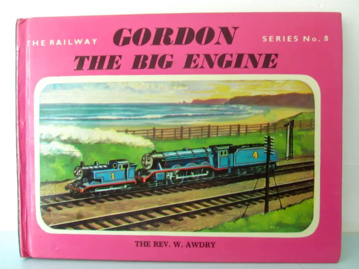 Thomas the tank engine vintage book, Gordon the big engine thomas book, 1970s thomas book, Thomas book, by thevintagemagpie01 on Etsy