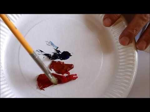 Comment faire la couleur bordeaux : une solution - YouTube