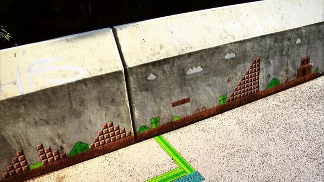 "This video was part of my Bachelor thesis at the University of Applied science and art Hannover. The Super Mario Bros. game, released on the Nintendo Entertainment System, is not longer bound to the television size and get interactive with a new environment.  The emphasis of my thesis is on the matchmoving work. It is the process of matching CG elements into live-action footage.   ""Irgendwann vor einiger Zeit ist das Königreich der friedlichen Pilzmenschen von den Kupas erobert worden…"