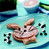 recipes/Bunny Hotcakes with Apple Butter Cream: Lee Recipes, Recipes Bunnies Hotcak, Recipe Bunnies Hotcak, Recipe Recipe