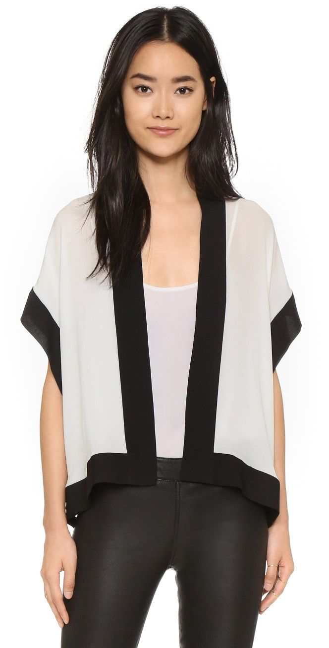 Mason by Michelle Mason Kimono Jacket | SHOPBOP