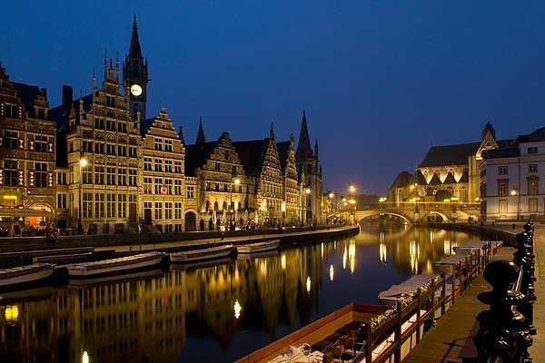 The city Ghent is one of the premier travel destination in Europe.
