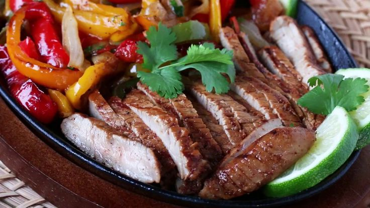 Grilled Veal Steak Fajitas YouTube FINAL