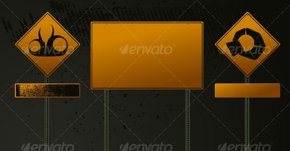Realistic Graphic DOWNLOAD (.ai, .psd) :: http://hardcast.de/pinterest-itmid-1000129398i.html ... Road danger sign set ... <p>Road danger sign set</p> caution, dark green, direction, grunge, route, sign, symbol, traffic, yellow  ... Realistic Photo Graphic Print Obejct Business Web Elements Illustration Design Templates ... DOWNLOAD :: http://hardcast.de/pinterest-itmid-1000129398i.html