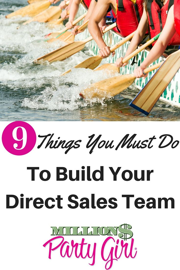 Learn how to build a successful direct sales team and become a leader of leaders. #Leadership #partyplan #networkmarketing #vision