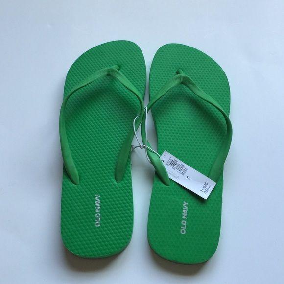 Old Navy Flip Flops Brand new green flip flops! Size 9. Old Navy Shoes Sandals