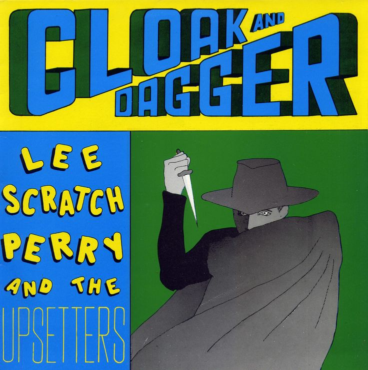 Lee Perry - Cloak and dagger LP UK 1989