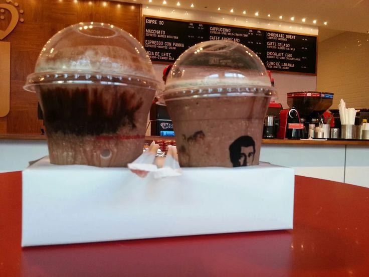 Not just coffee we cater for all #ChocolateFrio at Vida e Caffe.