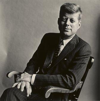 Irving Penn, John F. Kennedy, Washington, D. C., 1960