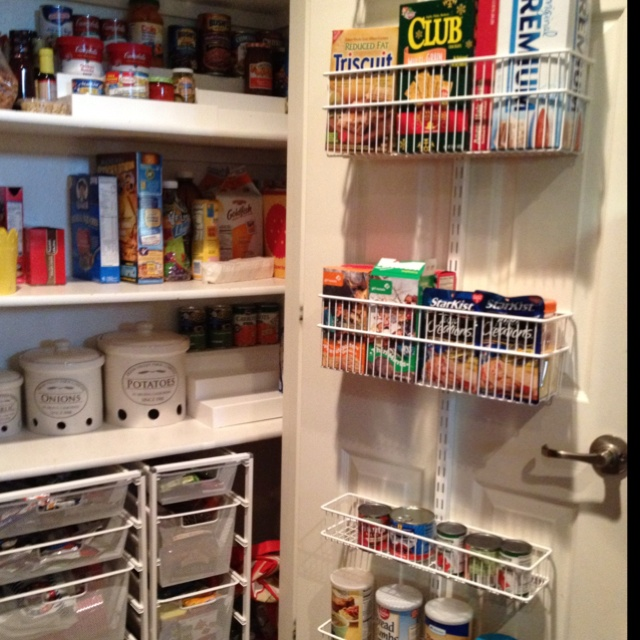 69 Best Images About Elfa Shelving Kitchen On Pinterest