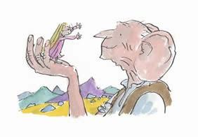 BFG Roald Dahl & Quentin Blake