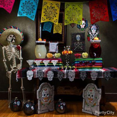 Dia de los Muertos/Day of the Dead Party Ideas for a Skeletal Soiree - Party City