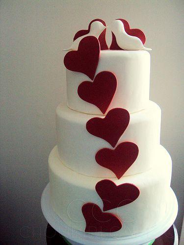 Love Birds Cake by ChoueiriCakeCo., via Flickr