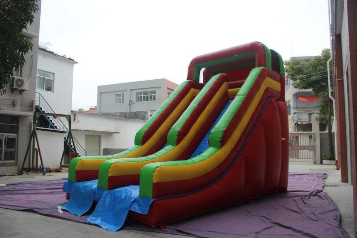 ДВОР Коммерческое Использование Надувной Отказов Дом Открытый Слайд Детей, Играющих В Игрушки