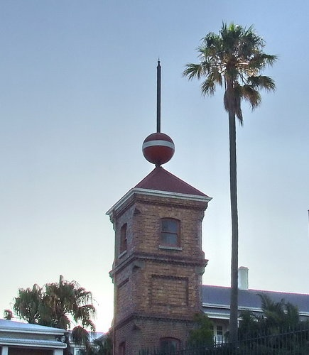 Time Ball Tower at the V Waterfront in Cape Town
