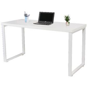 Daunte Loop Leg Desk White