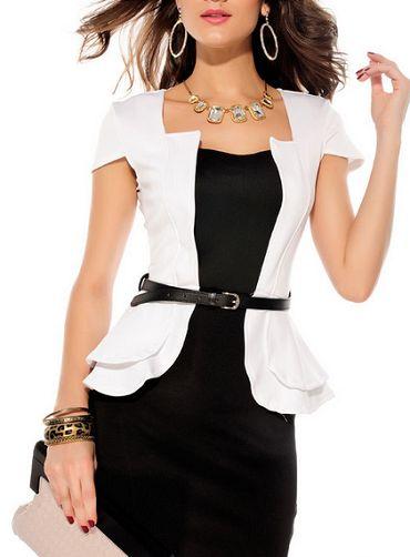 Vestido com blusa