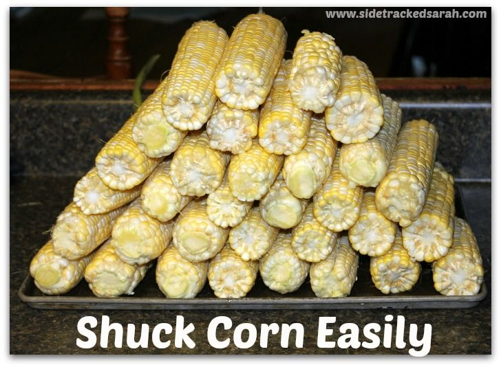 Shuck Corn Easily