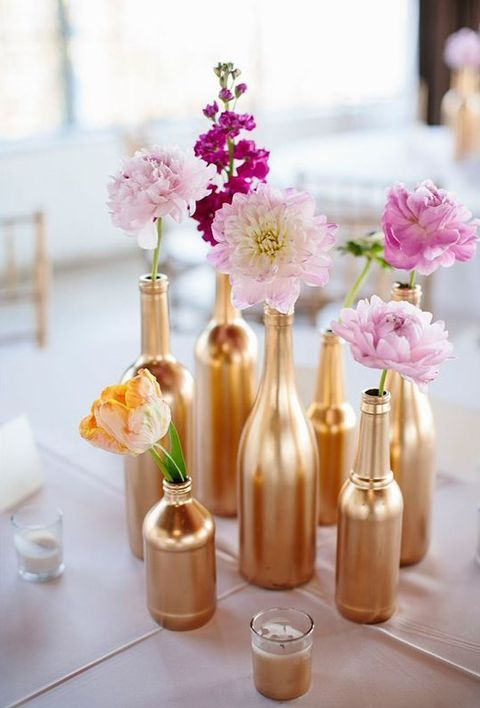 61 best metallic wedding ideas images on pinterest tables 15 celebrate the bride in style with these easy diy ideas solutioingenieria Choice Image