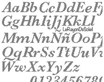 abecedarios en punto de cruz - Buscar con Google