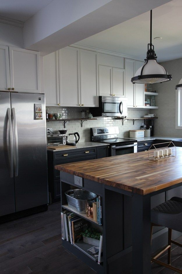 20 Creative Kitchen Island Design Ideas For Your Home In 2020 Diy Kitchen Island Custom Kitchen Island Kitchen Remodel Small
