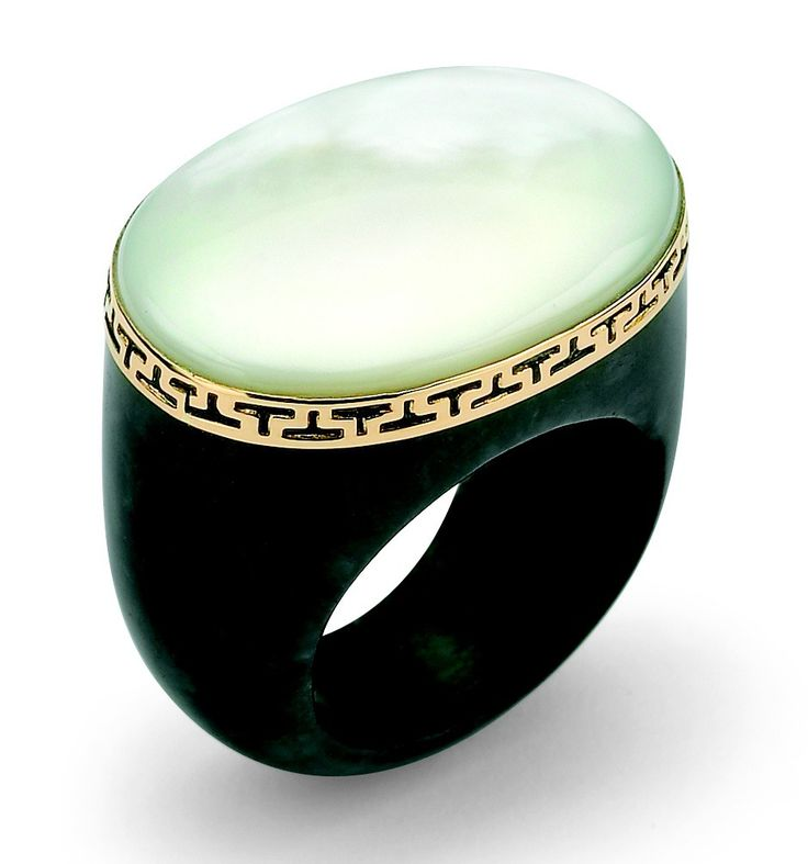 rings custom sparkle ti black s diamond men gemstone ridged polished jewelry titanium edge with creations gifts band jade
