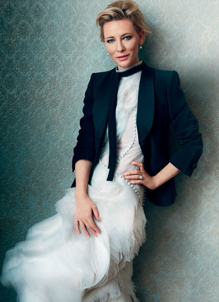 Harper's Bazaar UK February 2016 - Cate Blanchett - Norman Jean Roy