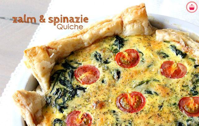 Deze zalm en spinazie quiche is simpel, snel klaar, ideaal als je last minute gasten hebt en verschrikkelijk lekker. Bekijk hier het recept!