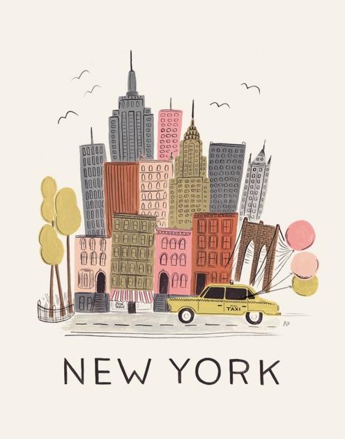 new york illustration paper rifle