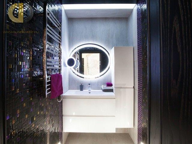 Дизайн ванной комнаты в современном стиле.