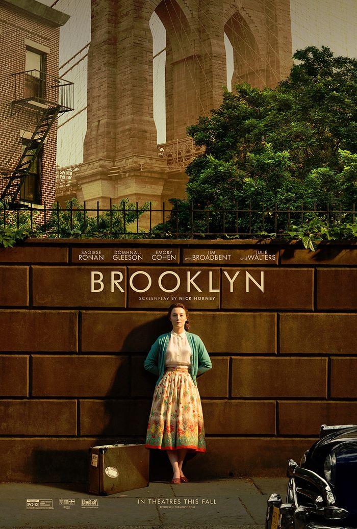 Pôster Brooklin - Os melhores pôsteres do cinema em 2015