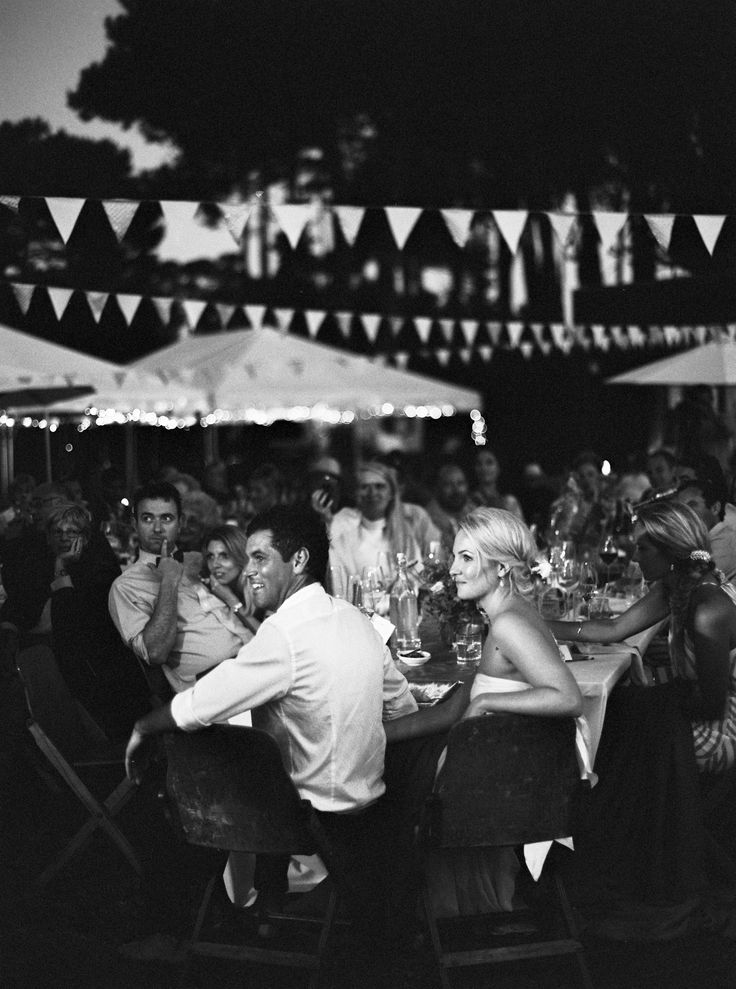 hp5 rated at 5000 pushed +4 in dev ... Al Fresco dinner at a New Zealand #beach #wedding - by #bubblerock