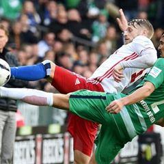 German Bundesliga Football match - Werder Bremen vs Hamburger SV