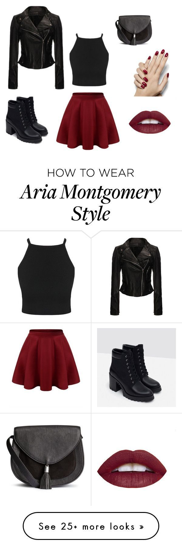 """Aria Montgomery"" by grace1215 on Polyvore featuri…"