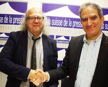 The #IFJ and #AlJazeera sign historical international framework agreement  #rights of #journalists