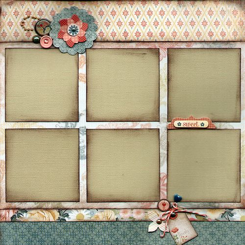 KTK FEB 2012 Page-D | Scrapbook Page Layout from the My Mind… | Flickr