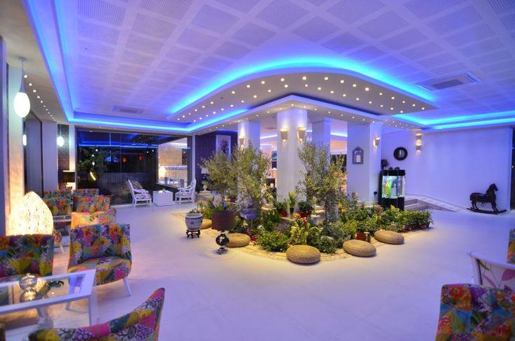 Lobby, reception, luxury, lights, colors - Phoenicia Luxury Hotel, Mamaia Nord, Constanta, Romania