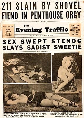 HIL-GLE Wonderblog: Ballyhoo (About 1931)Rotting Modern, Quality Creative, Hil Gl Mindfulness, Mindfulness Rotting, Creative Newsstand, Thoroughly Modern, Newsstand Fiction, Modern Millie, Hil Gl Wonderblog