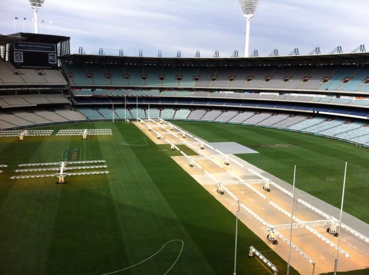 Finding a Little Bit of NYC in Melbourne - Melbourne Cricket Grounds