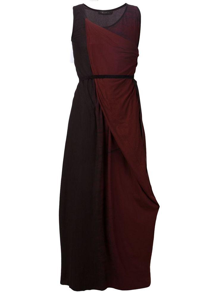 Area Di Barbara Bologna Drapiertes Kleid mit Schleife