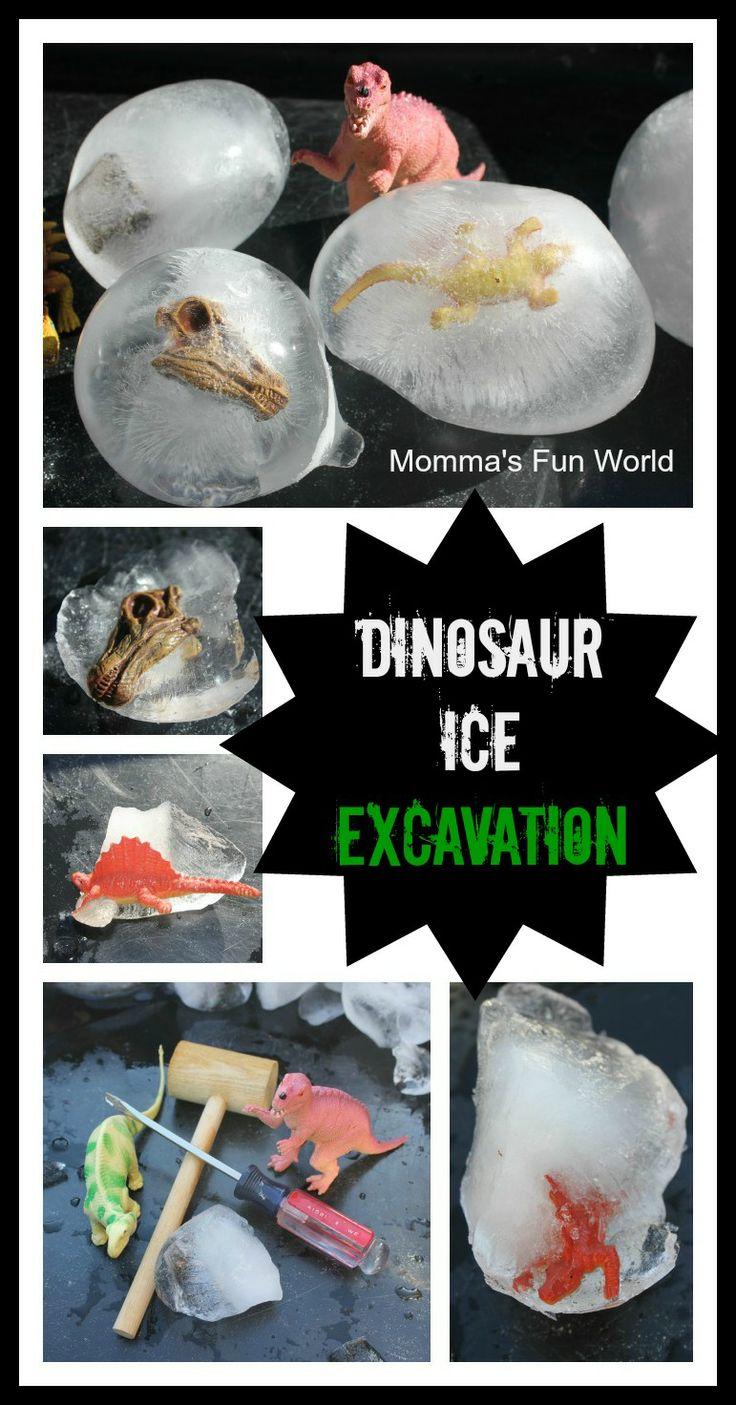 Dinosaur Ice Excavation