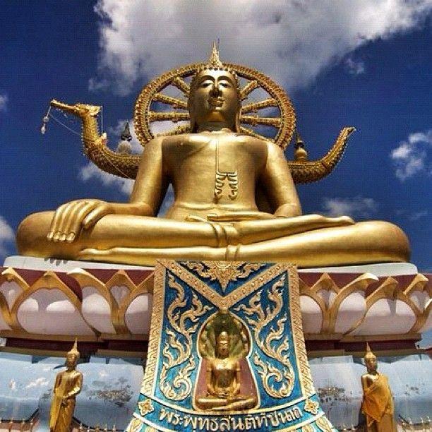 #Golden #Buddha in Ko Samui, #Thailand