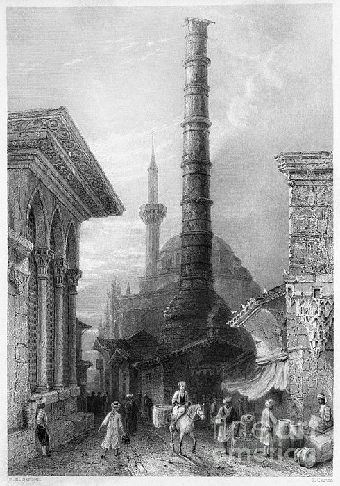 1830s Photograph - Istanbul: Porphyry Column by Granger Istanbul: Porphyry Column is a photograph by Granger which was uploaded on January 23rd, 2014.  PREV | NEXT  0 0 0 Istanbul: Porphyry Column