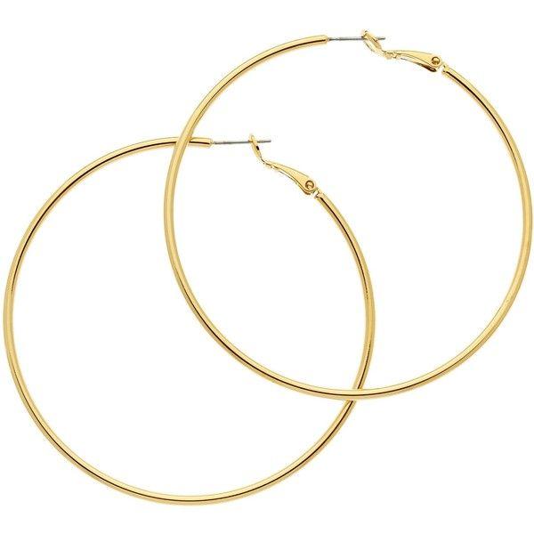 Best 25+ Gold hoop earrings ideas on Pinterest | Hoop ...
