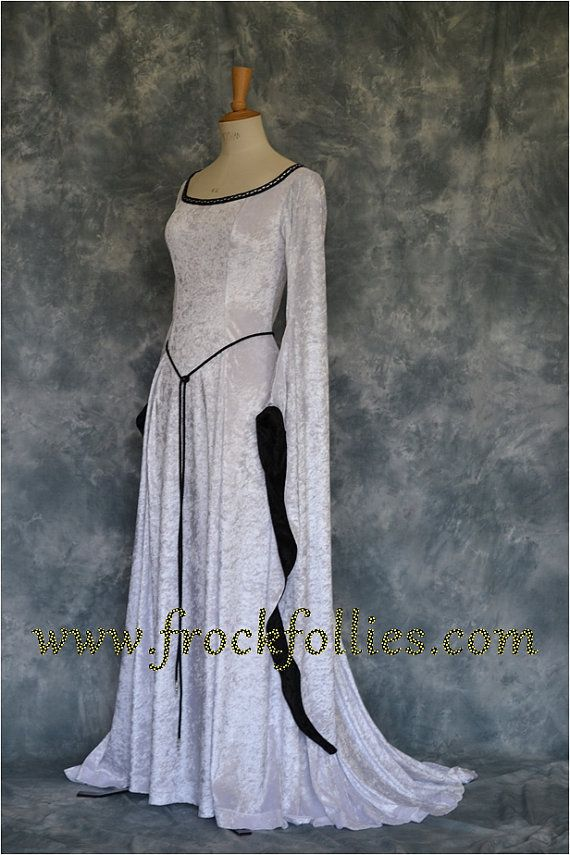 Meval Handfasting Gown Renaissance Pre By Frockfollies