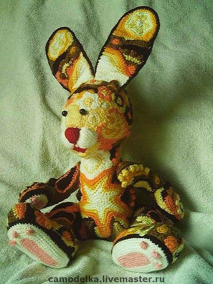 Игрушки животные, ручной работы. Ярмарка Мастеров - ручная работа Солнечный зайчик. Handmade.
